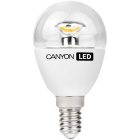 Canyon E14 3,3W LED izzó 4000K PE14CL3.3W230VN