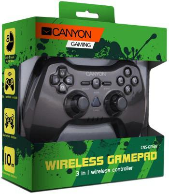 Canyon CNS-GPW6 rádiós Gamepad